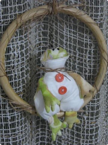Шитьё: царевна лягушка(Тильда) фото 3