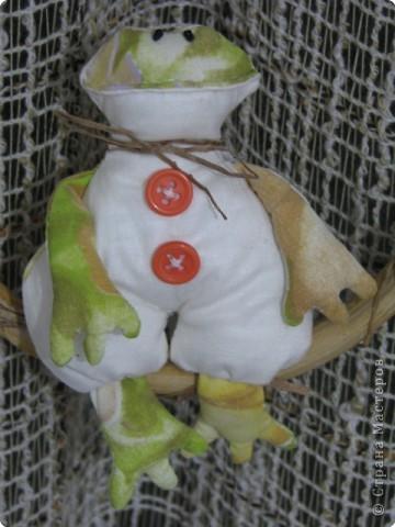 Шитьё: царевна лягушка(Тильда)