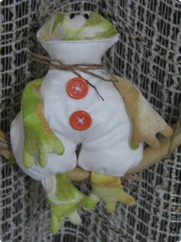 Шитьё: царевна лягушка(Тильда) фото 1