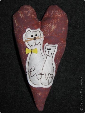 Шитьё: мягкие валентинки фото 3