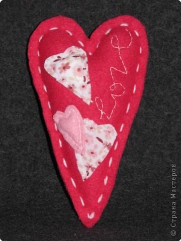 Шитьё: мягкие валентинки фото 4