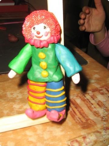 Лепка: Клоун фото 2