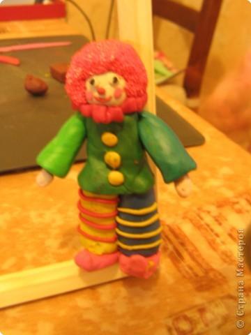 Лепка: Клоун фото 1