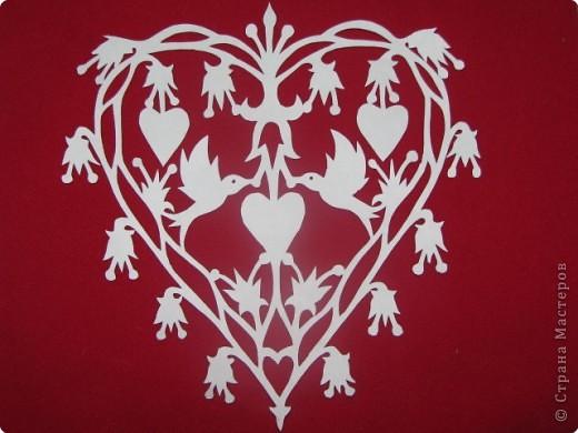 вытынанки-валентинки фото 1