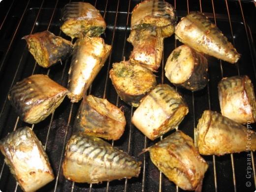 Шашлык из скумбрии рецепты в духовке