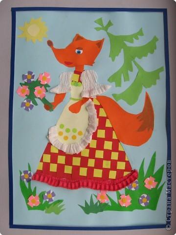 """Случайно в руки попалось пособие для занятий с детьми """"Волшебные коврики"""" А.В.Белошинской и О.Г.Жуковой. На ее основе мы с детьми сделали следующие работы. фото 2"""