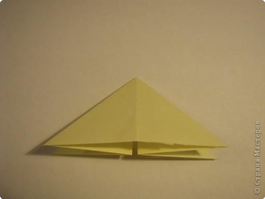 Оригами: Ананас МК фото 2