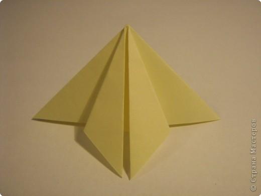 Оригами: Ананас МК фото 3
