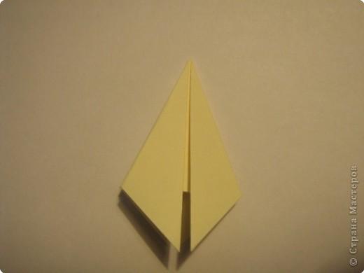 Оригами: Ананас МК фото 4