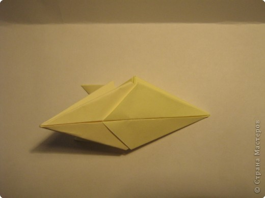 Оригами: Ананас МК фото 6