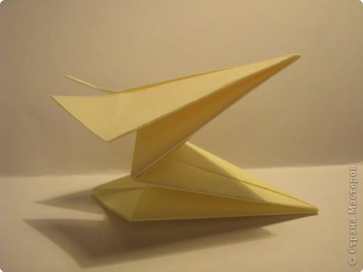 Оригами: Ананас МК фото 7