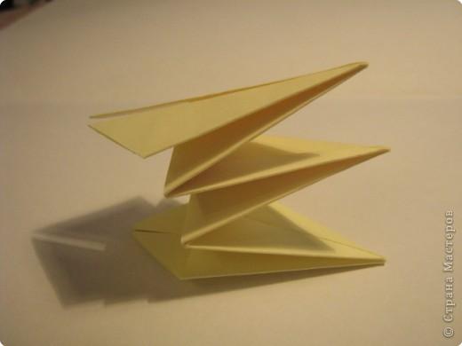 Оригами: Ананас МК фото 8