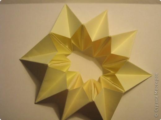 Оригами: Ананас МК фото 10