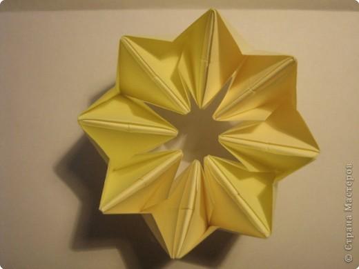 Оригами: Ананас МК фото 11
