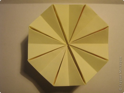 Оригами: Ананас МК фото 12