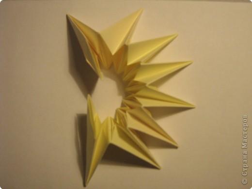 Оригами: Ананас МК фото 9