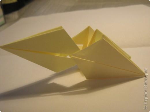Оригами: Ананас МК фото 5