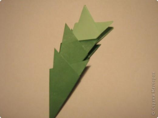 Оригами: Ананас МК фото 14