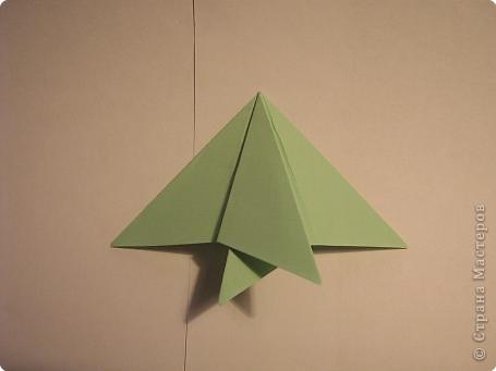 Оригами: Ананас МК фото 13
