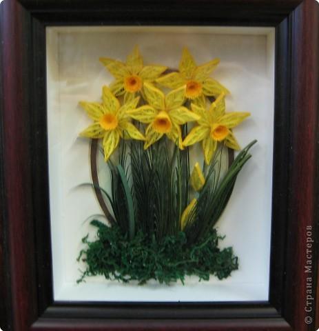 """Эта самая первая работа. Сначала это казалось невыполнимым. """"Желтые цветы"""" фото 7"""