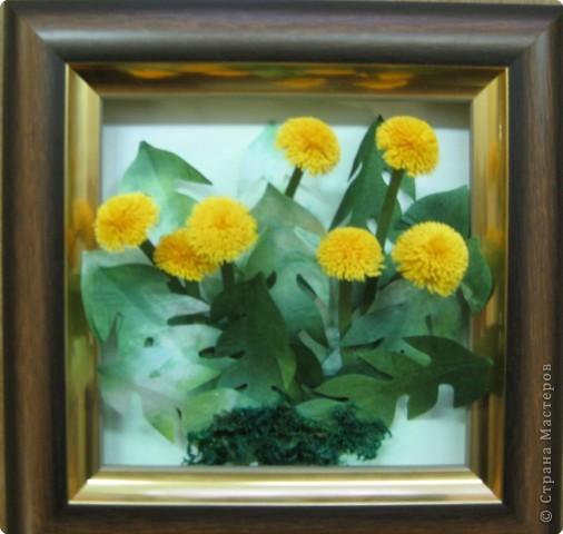 """Эта самая первая работа. Сначала это казалось невыполнимым. """"Желтые цветы"""" фото 3"""