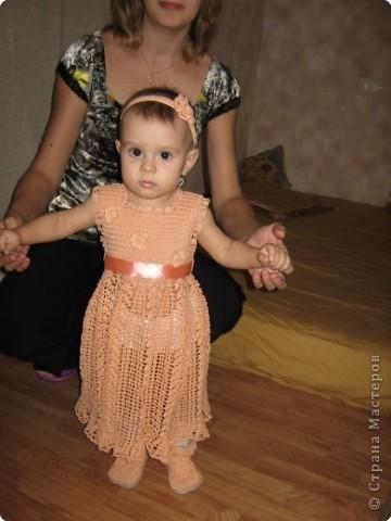 Вязание крючком: Наряд для внучки