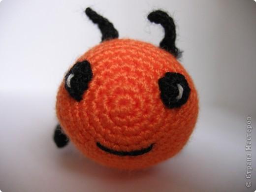 Вязание крючком: гусеница фото 3