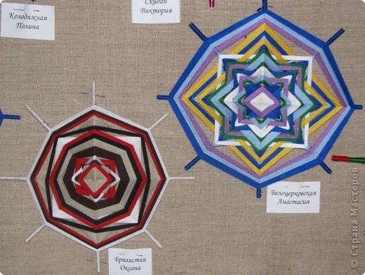 Плетение: Мандалы моих учениц.  фото 8