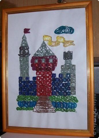 Квиллинг: Сказочный замок! фото 5