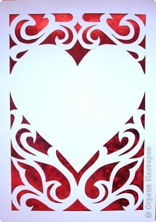 Вырезание симметричное: Валентинки фото 2