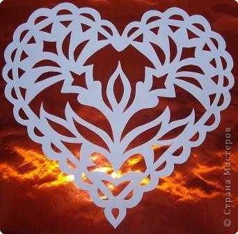 Ажурные сердечки фото 1
