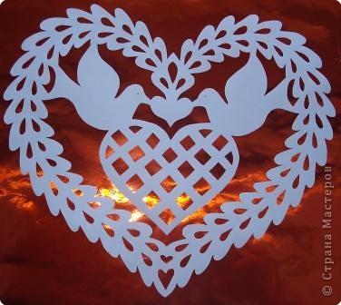 Ажурные сердечки фото 2