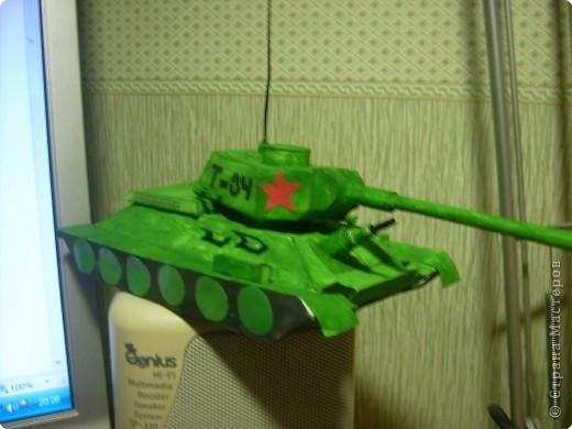 Как сделать танк т-34 из картона своими руками