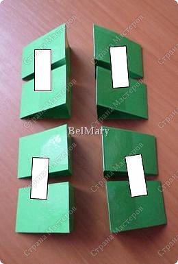 Для того, чтобы сделать такой трансформер нам понадобится: плотная бумага (12 см * 24 см), линейка, карандаш, ножницы, скотч. фото 5