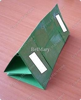 Для того, чтобы сделать такой трансформер нам понадобится: плотная бумага (12 см * 24 см), линейка, карандаш, ножницы, скотч. фото 7