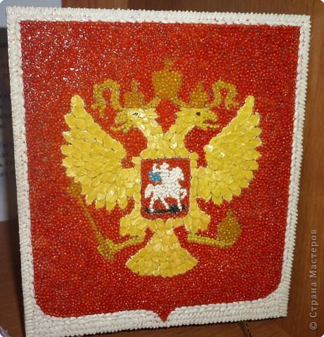 Поделка на символ россии