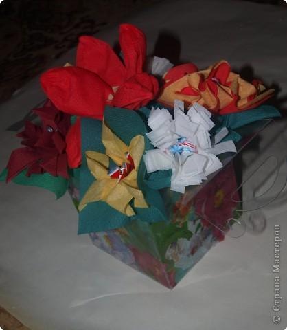 Вот такую коробочку с декупажем внутренним и внешним выполнила для подарка и мастер класса, который сегодня давала на свой город. фото 3