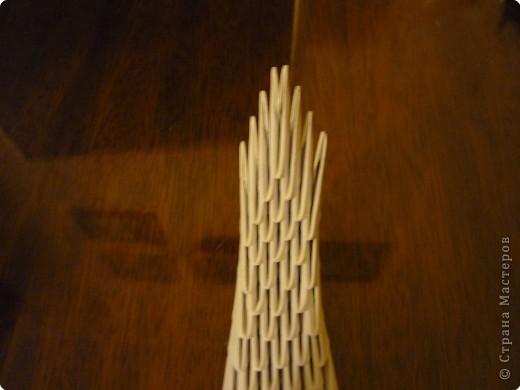 Китайский дракон:  Всего использовано 811 треугольных модулей размером примерно 37×53 мм. Это примерно около 26 листов формата А4. фото 13