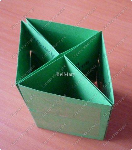 Для того, чтобы сделать такой трансформер нам понадобится: плотная бумага (12 см * 24 см), линейка, карандаш, ножницы, скотч. фото 8