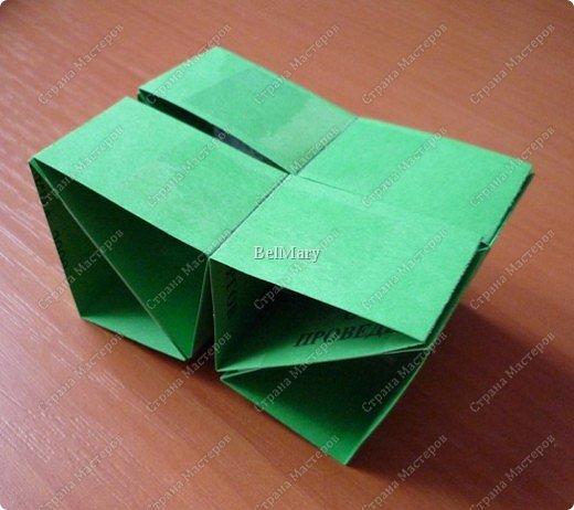 Для того, чтобы сделать такой трансформер нам понадобится: плотная бумага (12 см * 24 см), линейка, карандаш, ножницы, скотч. фото 10