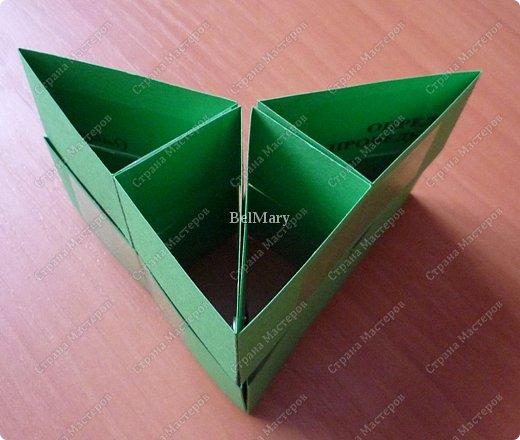 Для того, чтобы сделать такой трансформер нам понадобится: плотная бумага (12 см * 24 см), линейка, карандаш, ножницы, скотч. фото 12
