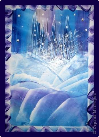 Сын попросил замок снежной королевы... фото 1