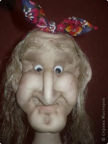 Шитьё: кукла Бабуся Ягуся