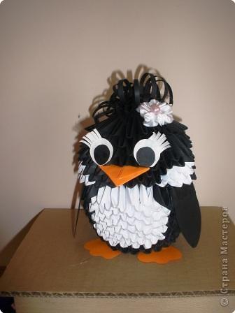 модульное пингвин Бумага