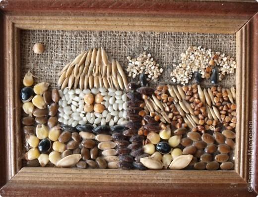 Папье-маше,шишки,листья, кора дерева и кукуруза. фото 2