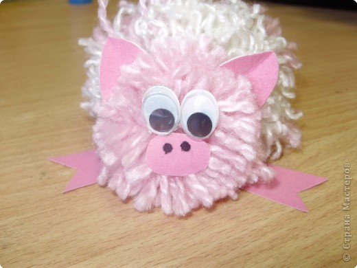 Свинка ученицы 3 класса
