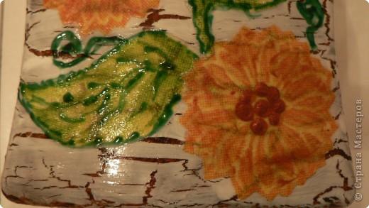 Купили жидкое мыло в большой канистре. А для пользования решила украсить уже пустую баночку. фото 3