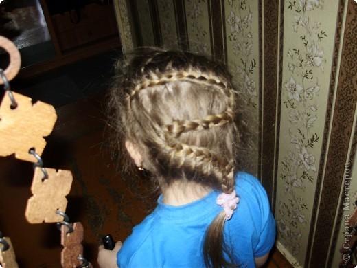Попробовала еще одно плетение косички. Вроде получилось. фото 3