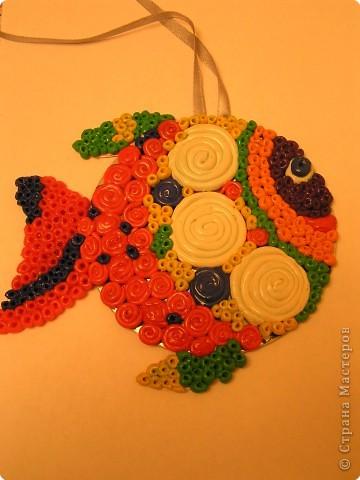 Рыбка-елочное украшение фото 1