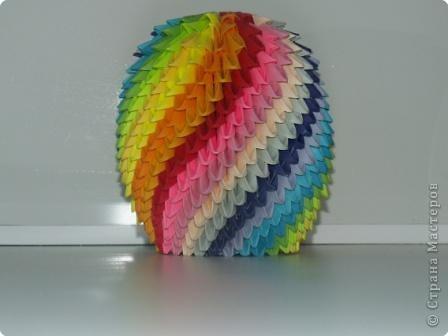 Оригами модульное: Мячик